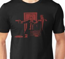 Dead Fiction - Red #3 Unisex T-Shirt