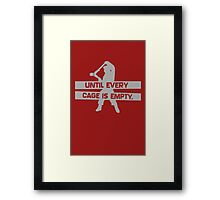 Until Every Cage Is Empty Framed Print