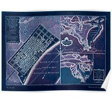 American Revolutionary War Era Maps 1750-1786 753 Plan of New Orleans the capital of Louisiana with the disposition of its quarters and canals as they have Inverted Poster