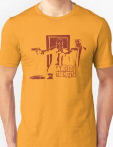 Dead Fiction - Red #4 Unisex T-Shirt