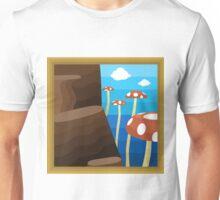 Tall, Tall Mountain, A Super Mario 64 Painting Unisex T-Shirt
