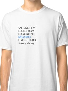Vitality and Fashion Classic T-Shirt
