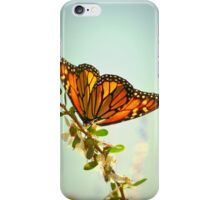 Monarch Flower iPhone Case/Skin