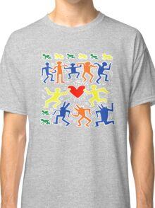 Keith Haring Love Dance Classic T-Shirt
