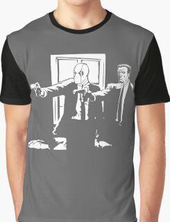 Dead Fiction - White #1 Graphic T-Shirt