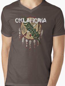 Vintage Oklahoma Mens V-Neck T-Shirt