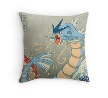 The Great Wave II Throw Pillow