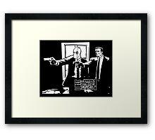 Dead Fiction - White #3 Framed Print