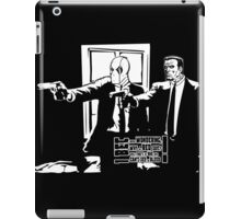 Dead Fiction - White #3 iPad Case/Skin