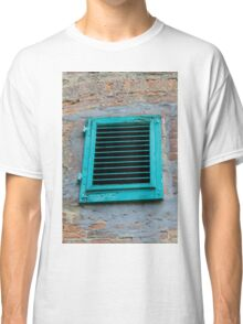 old an abandoned window Classic T-Shirt