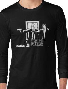 Dead Fiction - White #4 Long Sleeve T-Shirt