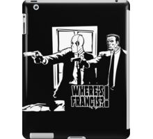 Dead Fiction - White #4 iPad Case/Skin