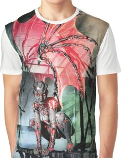 Robot Angel Painting 017 Graphic T-Shirt