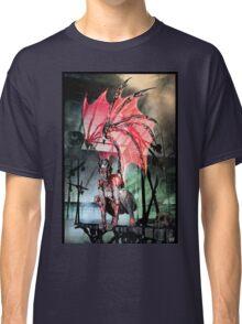 Robot Angel Painting 017 Classic T-Shirt