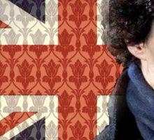 Sherlock Union Jack Sticker