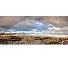 Rainbow Over Surfers Paradise Photographic Print