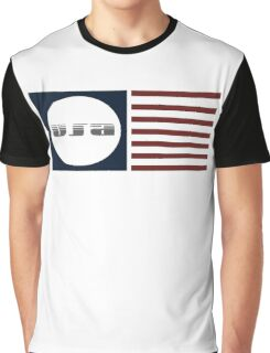 USA Flag Graphic T-Shirt