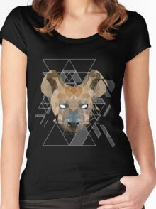 GeoHyena Women's Fitted Scoop T-Shirt