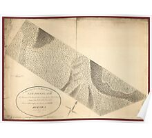 American Revolutionary War Era Maps 1750-1786 201 A plan of that part of the Rosalij Estate call'd New Found Land the property of His Excellcy Chas O'Harra Poster