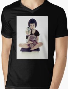 Mathilda Lando Mens V-Neck T-Shirt