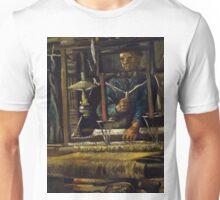 1884-Vincent van Gogh-A Weaver's Cottage-47 x 61 Unisex T-Shirt