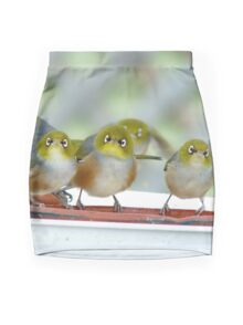 Excuse Me Waiter... But...Where Is The Main Course? - Silver-Eyes - NZ Mini Skirt