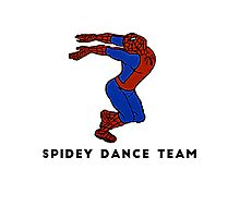 Spidey Dance Team Photographic Print