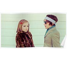 Margot & Richie Tenenbaum Poster