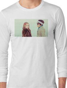Margot & Richie Tenenbaum Long Sleeve T-Shirt