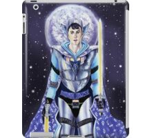 Warrior class man - Mercury iPad Case/Skin