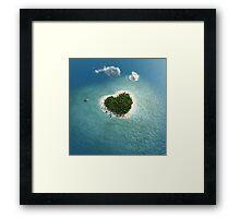 Sweet Island Framed Print