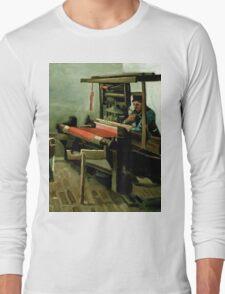 1884-Vincent van Gogh-Weaver-62,5x84,4 Long Sleeve T-Shirt