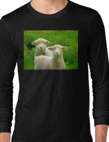The Red Bubble Definition of Cute! - Lambs - NZ Long Sleeve T-Shirt
