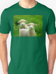 The Red Bubble Definition of Cute! - Lambs - NZ Unisex T-Shirt