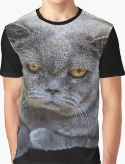 Grumpy Shorthair Graphic T-Shirt