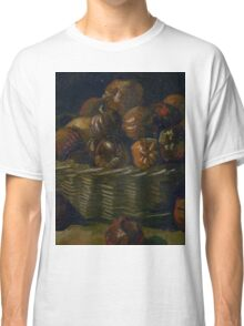 1885-Vincent van Gogh-Basket of apples Classic T-Shirt