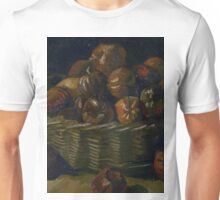 1885-Vincent van Gogh-Basket of apples Unisex T-Shirt