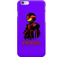 kamenrider iPhone Case/Skin