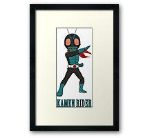 KamenRider Framed Print