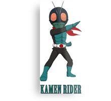 KamenRider Metal Print
