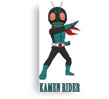 KamenRider Canvas Print