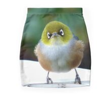 Little boy lost! - Silvereye - Wax Eye - New Zealand Mini Skirt
