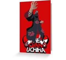 uchiha Greeting Card