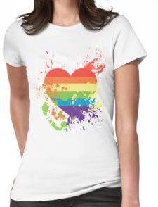 -Love- Womens Fitted T-Shirt