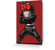 Kamaenrider Chibby Greeting Card