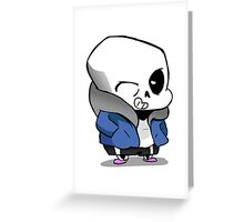 Little Sans Greeting Card