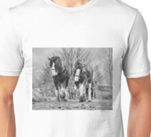 Working horses Unisex T-Shirt