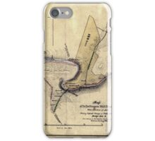 168 Map of Dr Dellingers mill property with 153 acres of land showing proposed changes of public roads bridge site c iPhone Case/Skin