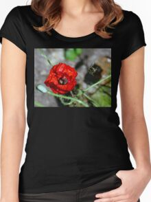 The Bumble & The Poppy - NZ Women's Fitted Scoop T-Shirt