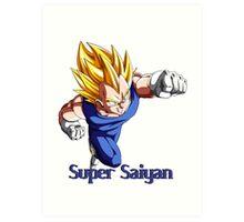 Super Saiyan VEGETA Art Print